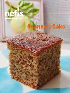 Cevizli Nine Keki - Pudding Mini Cakes, Banana Bread, Deserts, Baking, Food, Strawberry Fruit, Sweet Pastries, Cook, Kitchens
