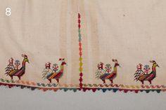 Embroidery from Trikeri, Pelion Folk Costume, Embroidery Stitches, Folk Art, Greek Costumes, Bird, Pj, Pattern, Inspiration, Jewellery