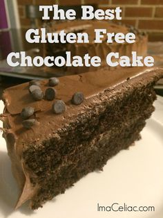 The Best Gluten Free Chocolate Cake Recipe. Wow all your gluten-eating friends