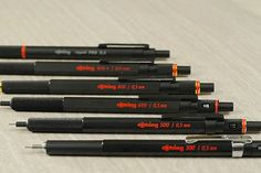 Rotring 800 Drafting Pencil - 0.5 mm - Black Body