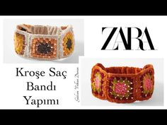 Zara, Crochet Videos, Crochet Hair Styles, Headband Hairstyles, Crochet Clothes, Hair Clips, Baby Shoes, Slippers, Headband Crochet