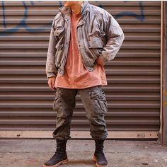 "1,210 Likes, 12 Comments - #SimpleFits (@simple.fits) on Instagram: ""#SimpleFits  @c00l_jay ▪#Vintage #Bomber ▪#CivilRegime #Tee ▪#RalphLauren #Cargo…"""