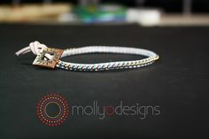 video on how to make wrap bracelet using chain instead of beads - Molly O Designs