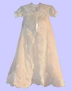 Ideas for Christening gowns from wedding dresses