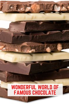 Take a sweet chocolate tour around the world as we discover the best of the best. Chocolate is almost everyone's favorite sweet. Find out where to get the best. #Chocolate @ChocolateAroundThe World