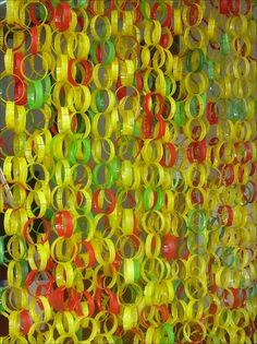 Curtains and garlands | Recyclart