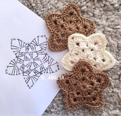 Marvelous Image of Free Crochet Star Pattern Free Crochet Star Pattern Pin Ba To Boomer Lifestyle On Crafts Crochet Knitting Both Czekają na Ciebie nowe Piny: 18 - Poczta Crochet Easy Bunny Applique (for beginners) - Salvabrani Crochet snowflakes White w Crochet Star Patterns, Crochet Stars, Crochet Motifs, Crochet Snowflakes, Crochet Diagram, Diy Crochet, Crochet Crafts, Crochet Stitches, Crochet Doilies