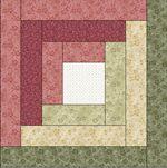 log cabin quilt templates