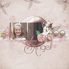 Layout made by Renee with Guardian Angel Charity Collab- theStudio Gallery available at theStudio