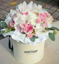 Pretty Pink & White Arrangement...