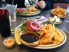 Angelo S Breakfast Spot Restaurant In Ann Arbor Michigan Burger Fries