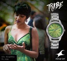 For those who will always stay ever green. Your piece from the Fastrack #Tribe Collection beckons. http://fastrack.in/products/watches/sku-6129sm02/
