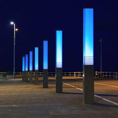 Seafront Light Columns | Flickr - Photo Sharing!