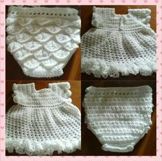 9-12 mth dress and diaper cover