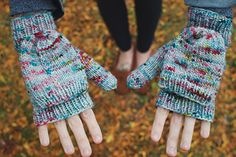 Tinsel Mitts  by Andrea Mowry | Drea Renee Knits