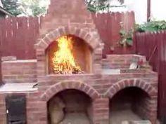 Gratar de gradina din caramida zilele 6-7 / Brick BBQ day 6-7 - YouTube