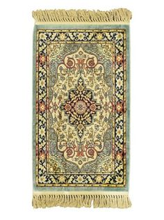 65% OFF Persian Rug, Green, 2' x 3' 3