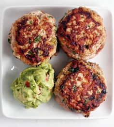 Paleo Jalapeño Chicken Burgers - grill, whole30, freezer meals, oamc