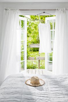 This lovely Scandinavian summer cottage belongs to Tine K, who is the owner of the Danish home decor...