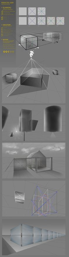Perspective Study Sketchbook 29 CW by JustIRaziel