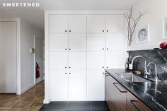 Casey and Kumar's ambitious Clinton Hill Co-op apartment renovation in Brooklyn is complete with a disappearing bedroom and handcrafted kitchen.