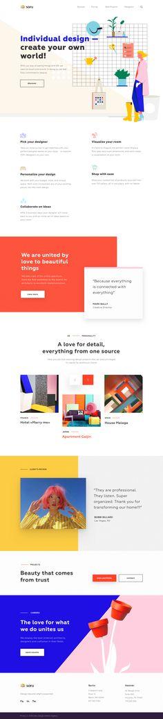 png by Outcrowd Portfolio Web Design, Portfolio Layout, Design Web, Blog Design, Minimalist Web Design, Website Themes, Website Designs, Create Your Own World, Corporate Website