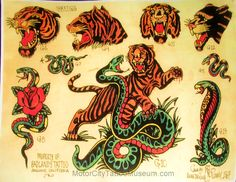 vintage tattoo flash | Vintage Flash