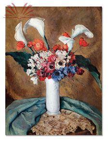 Título :Vaso de flores Artista :Annita Catarina Malfatti - Anita Malfatti - Anita Malfati Técnica :Óleo sobre Tela Dim. :86 x 65 cm                                                                                                                                                                                 Mais