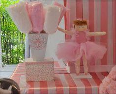 Coisas da Maura: Coisinhas: Decoração de Festa Infantil - Tema Bailarinas