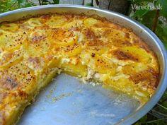 Aby nič nevyšlo nazmar: zapekané zemiaky na spôsob čo dom dal No Salt Recipes, Quiche, Ale, Pizza, Menu, Cheese, Breakfast, Food, Treats