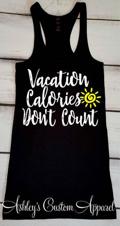 Vacation Tank Top Cruise Shirts Swimsuit Cover Up Beach