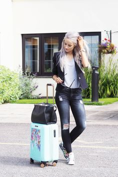 Yes, you can wear smart casual with a pair of Mary Katrantzou x Adidas Sneakers! C: Inthefrow