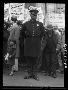 """Street meeting. San Francisco, California."" August 1936"