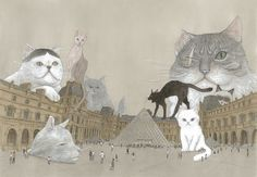 六本木・森アーツセンターギャラリーで、ルーヴル美術館特別展「ルーヴル No.9 ~漫画、9番目の芸術~」が開催される。期間は2016年7月22日(金)から9月25日(日)まで。松本大洋/「ルーヴルの猫...