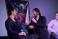 "Keanu Reeves & Tiger Chen ""Man of Tai Chi"" Q&A, Fantastic Fest""Man of Tai Chi"""