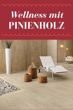 Badezimmer Ideen Wellness Fliesen Pinienholz Optik