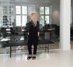 På kontoret - Min uge i outfits: Jeanette Friis Madsen