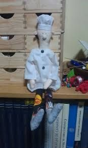 Resultado de imagen para hand painted linen doll wool narwhal by Jess Quinn Small Art