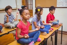 The rate of anxiety in children has been increasing over the last several years. Previous research has indicated that yoga can help reduce anxiety in children. A recent study examined how to use yoga to reduce anxiety in children. Mindfulness In Schools, Mindfulness Exercises, Yoga Exercises, Chico Yoga, How To Treat Anxiety, Childhood Obesity, Anxiety In Children, Health Lessons, Yoga For Kids