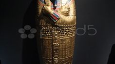 King Tut Ancient Egypt Artifacts 3 - Stock Footage   by micjayger