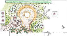 Classic Formal Garden in Houghton
