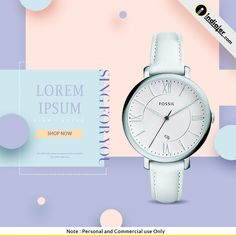 Free Instagram Ad Women's Watch Banners PSD Social Media Banner, Social Media Design, Email Design, Ad Design, Free Instagram, Instagram Posts, Instagram Banner, Watch Ad, How To Make Animations