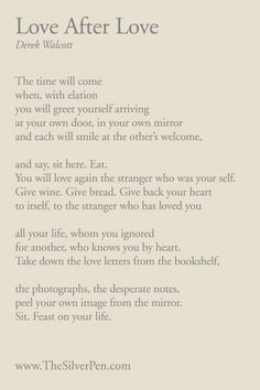 I really want to work a verse or two into a tattoo somehow. I love this poem.