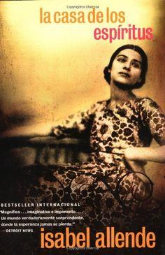 La Casa de los Espíritus (Spanish Edition) by Isabel Allende http://www.amazon.com/dp/0060951303/ref=cm_sw_r_pi_dp_SGIKtb1H84FXNZCA