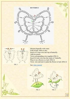 S72 The Book of crochet flowers