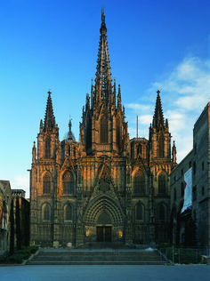Cathedral of the Holy Cross and Saint Eulalia also known as Barcelona Cathedral, is the seat of the Archbishop of Barcelona, Spain.