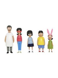 Bob's Burgers Collectible Figure 5 Pack | Hot Topic
