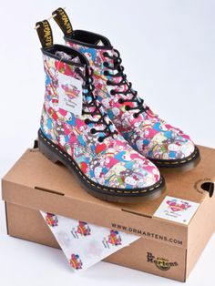 Sanrio 50th Anniversary x Dr Martens Collaboration.    I want them!