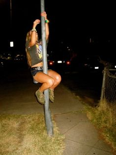 workin the pole...sort of