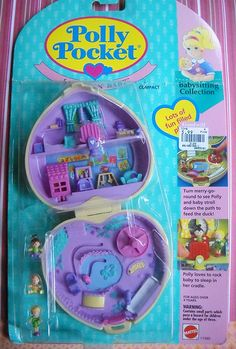 Polly Pocket, ya know, back when she actually fit in your pocket.
